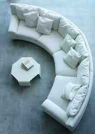 round sofa with decorative ideas for home interior furniture
