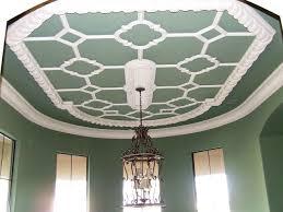 ceiling pattern mediterranean dining room dallas by