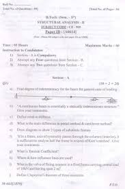 punjab technical university jalandhar previous years question