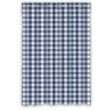 Check Shower Curtain Gingham Check Shower Curtains With Available Matching Window