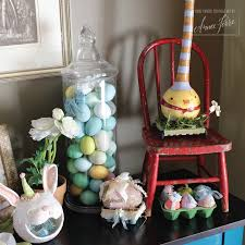 Easter Home Decor by Easter Home Decor 2017 The Entry Table Aimee Ferre