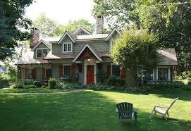 craftsman style home turn the garage to the side cape cod renovated into craftsman style home hometalk