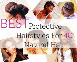 best protective natural hairstyles for 4c hair beautiful u0026 easy