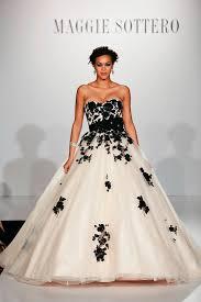 12 black white wedding dresses for the adventurous bride brit co
