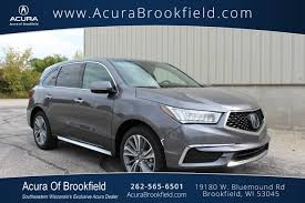 Acura Mcx 2017 Acura Mdx For Sale Near Waukesha Wi Acura Of Brookfield