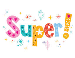 word super decorative lettering type design stock vector image