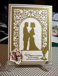 wedding vow cards cheery wedding vows die card by lynne price wedding cards