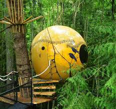 free spirit eco sphere treehouses let you channel your inner ewok