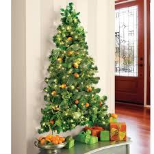 wall hanging pre lit tree the green