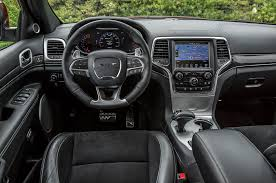 grey jeep grand cherokee interior 2014 jeep grand cherokee srt first test truck trend