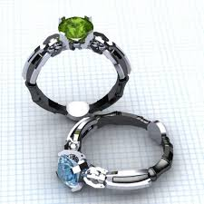 doctor who engagement ring geeky rings custommade