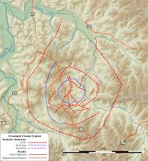 Aa Route Map Crooked Creek Crater Wikipedia