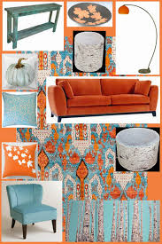 Red And Turquoise Living Room by New Turquoise And Orange Decor 84 On Home Design Online With