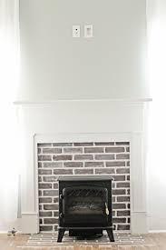 faux fireplace myrtle house u2014 elizabeth burns design raleigh nc