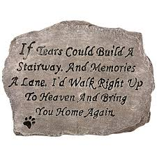 Home Again by Bring You Home Again Garden Stone The Animal Rescue Site