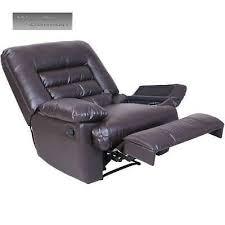 dark brown recliner massager cup holder usb charging port memory