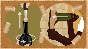 cartoon wine png how to open wine without using a corkscrew fix com
