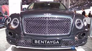 2017 bentley bentayga exterior walkaround 2016 new york auto