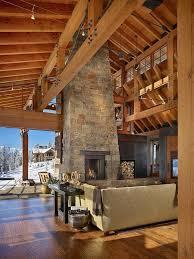 Modern Rustic Living Room Design Ideas 350 Best Timber Frame Home Images On Pinterest Timber Frames