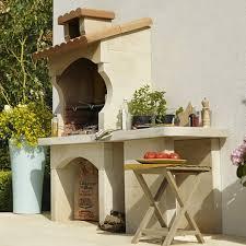 leroy merlin cuisine exterieure barbecue fixe barbecue béton barbecue en au meilleur prix