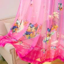 curtains for kids bedroom cartoon rainbow clouds embroidered