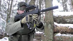 airsoft war games in snow star l85 mp44 type 97b scotland hd youtube