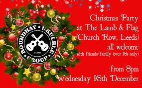 set list roundhay ukulele group