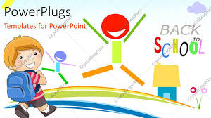 powerpoint template kids image collections templates example