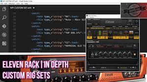 Audio Visual Rack Eleven Rack In Depth Custom Rig Sets Edit Xml Intermediate
