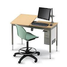 Computer Drafting Table Smith System Split Top Cad Desk