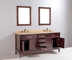 72 Inch Single Sink Bathroom Vanity by 72 Inch Selina Vanity Cherry Wood Vanity Vanity With Mirrors
