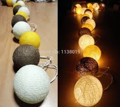 cotton ball string light picture more detailed picture about