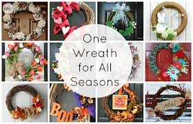 make one wreath for all seasons one thing by jillee