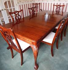pennsylvania house cherry chippendale style table and chairs ebth