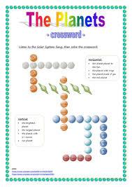 19 free esl solar system worksheets