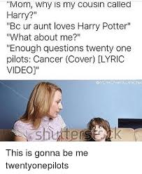 Why Is A Meme Called A Meme - mom why is my cousin called harry bc ur aunt loves harry potter
