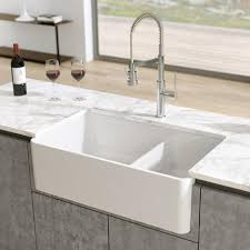 is an apron sink the same as a farmhouse sink latoscana 33 fireclay farmhouse sink 60 40 bowl white ltd3319w