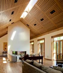 brilliant living room with cathedral ceiling vaulted ceiling