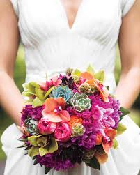 succulent bouquet 24 succulent wedding bouquets martha stewart weddings