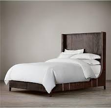 Leather Headboard King High Back Leather Headboard King Bed Double Genuine Leather Beds