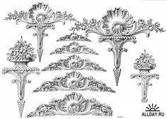 ornamental borders scrolls and cartouches in historic decorative