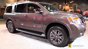 nissan armada for sale in new york 2015 nissan armada platinum reserve exterior and interior