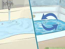 Jacuzzi Bathtub Maintenance 3 Ways To Clean A Jetted Tub Wikihow