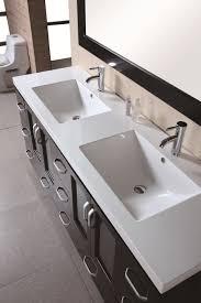 design element bathroom vanities design element stanton double 72 inch modern bathroom vanity set