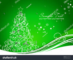 beautiful christmas tree on green background stock vector 66995674 beautiful christmas tree on green background