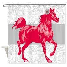 Horse Shower Curtains Sale Unique Esthetic Design Snowflake Horse Shower Curtain On Sale Buy