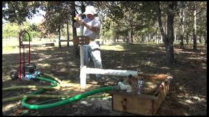How To Drill A Water Well In Your Backyard Drill Your Own Well Series Mud Pump U0026 Portable Mud Pit Youtube
