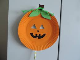 pumpkin mask paper plate pumpkin mask my kid craft