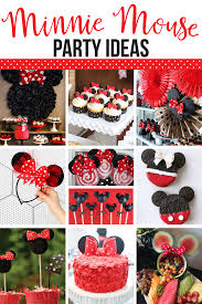 minnie mouse party ideas top 10 minnie mouse birthday party ideas by lindi haws of the day