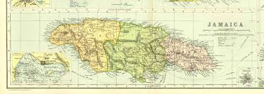 Portland Earthquake Map by Parishes Of Jamaica